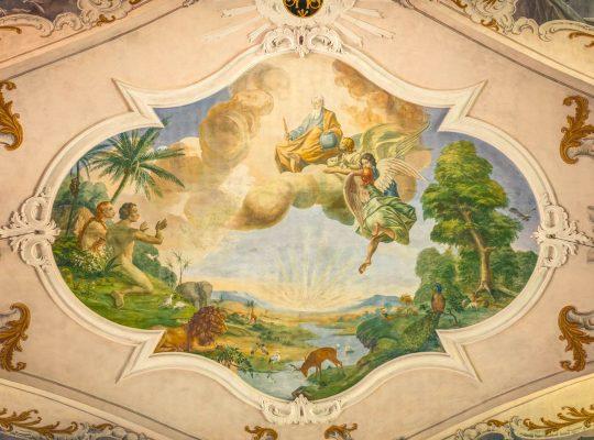 St. Vitus Deckenfresko
