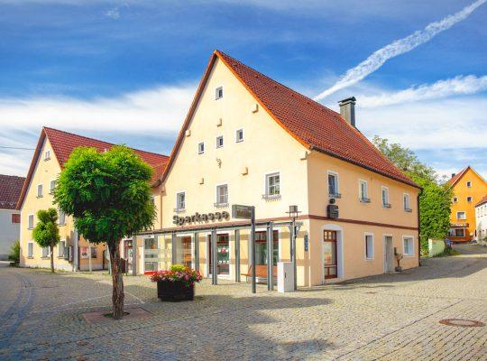 Die Sparkassen Filiale in Königstein von Stephan Böhm