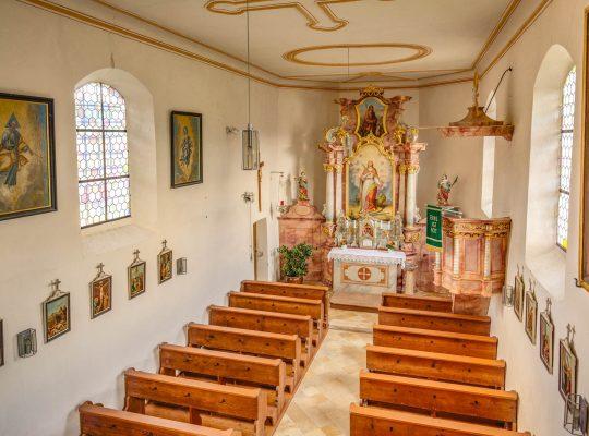 St. Margareta - Innenaufnahme