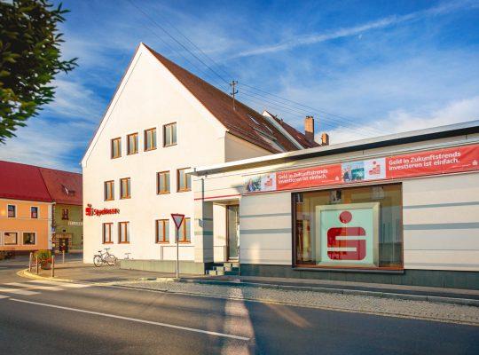 Die Sparkassen Filiale in Vilseck von Stephan Böhm